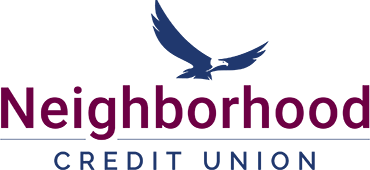 Neighborhood Credit Union 2018 logo with eagle