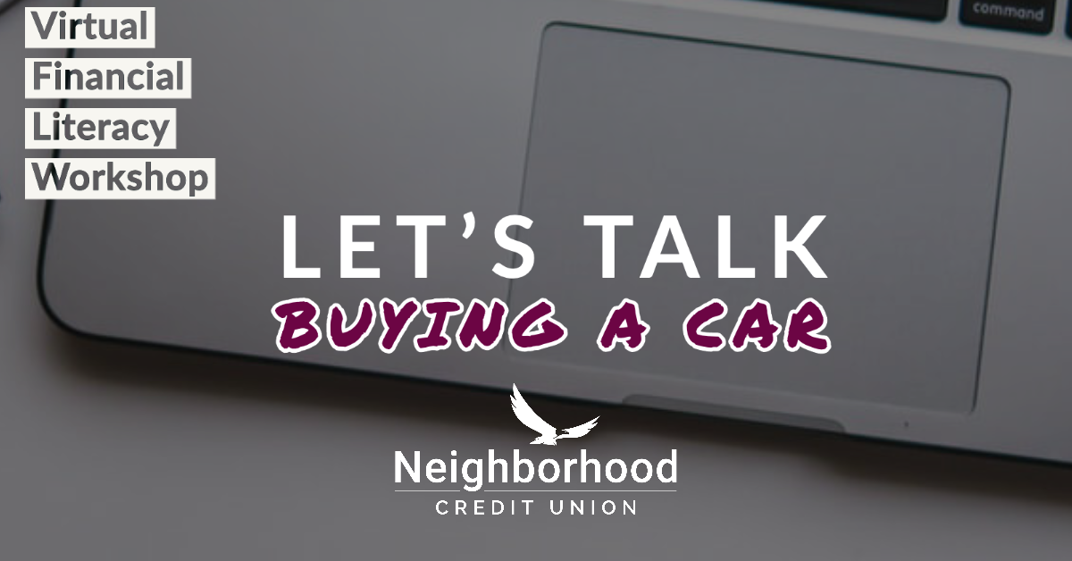Let's talk buying a car.