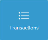 list icons saying transactions
