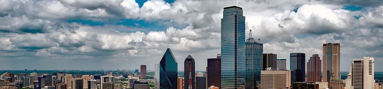 Downtown Dallas skyline during the day